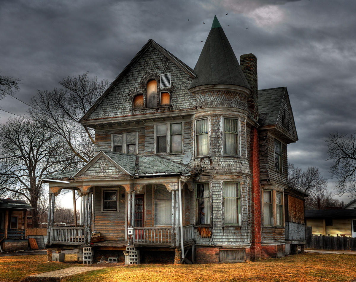 Why the Haunted House theme? What is it about this supernatural
